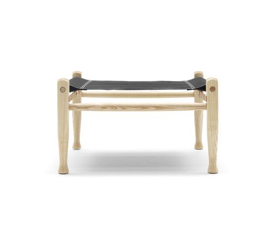 KK47001 Safari stool von Carl Hansen & Søn | Poufs / Polsterhocker