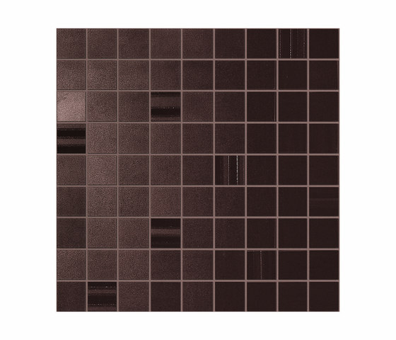 Sublime Sienna Mosaic Square by Atlas Concorde | Ceramic mosaics
