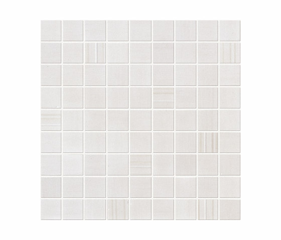 Sublime Silver Mosaic Square by Atlas Concorde | Ceramic mosaics