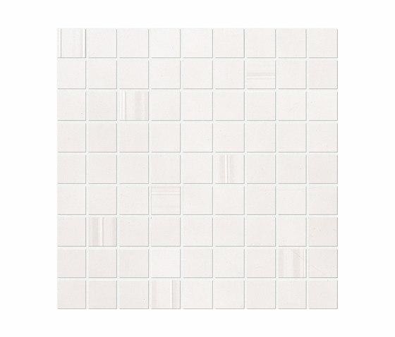 Sublime Snow Mosaic Square by Atlas Concorde | Mosaics