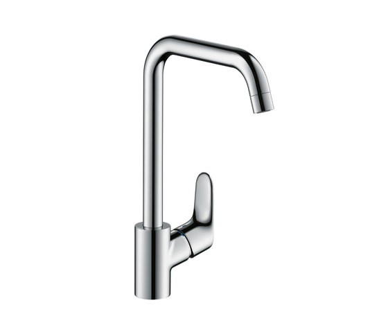 Hansgrohe Focus Single Lever Kitchen Mixer DN15 for vented hot water cylinders by Hansgrohe | Kitchen taps