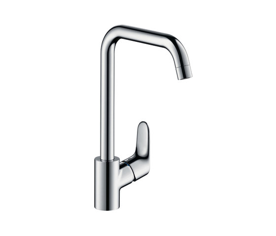 hansgrohe Focus Single lever kitchen mixer 260 for vented hot water cylinders by Hansgrohe | Kitchen taps