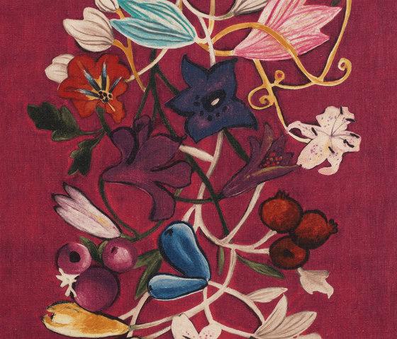 Flowers col. 003 by Dedar | Curtain fabrics