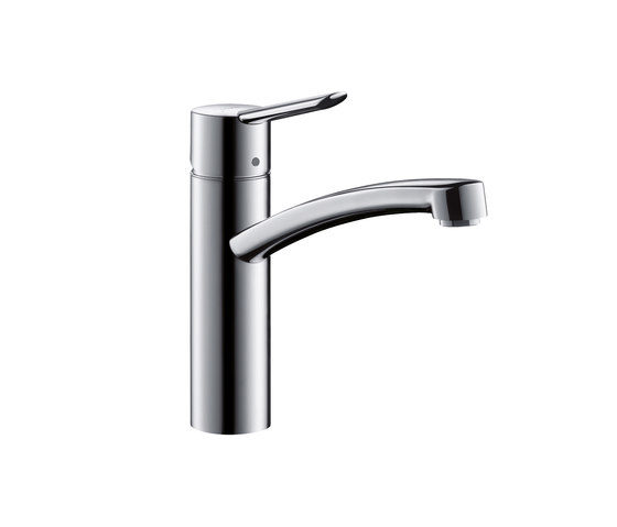 Hansgrohe Focus S Single Lever Kitchen Mixer DN15 for vented hot water cylinders by Hansgrohe | Kitchen taps