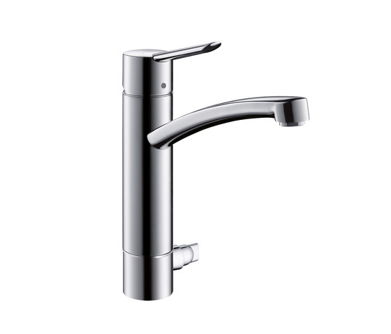 Hansgrohe Focus S Single Lever Kitchen Mixer DN15 with device shut-off valve by Hansgrohe | Kitchen taps
