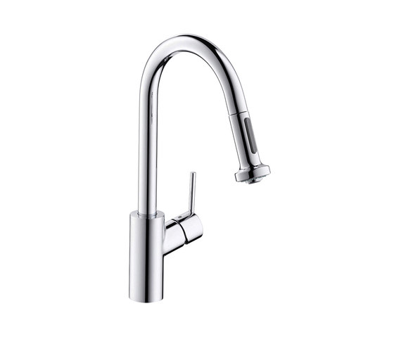 hansgrohe Talis S² Variarc Single lever kitchen mixer with pull-out spray by Hansgrohe | Kitchen taps