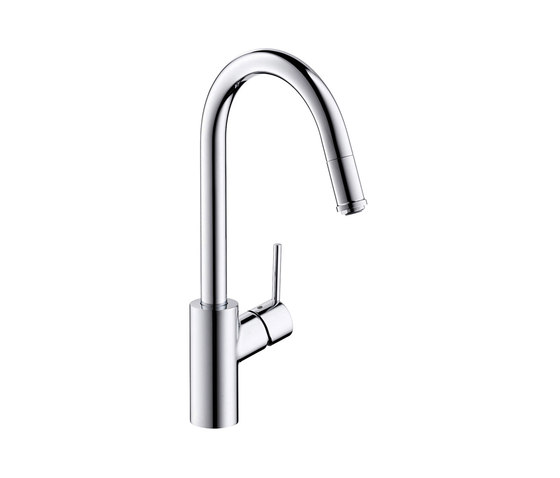 hansgrohe Talis S² Single lever kitchen mier with pull-out spout by Hansgrohe | Kitchen taps