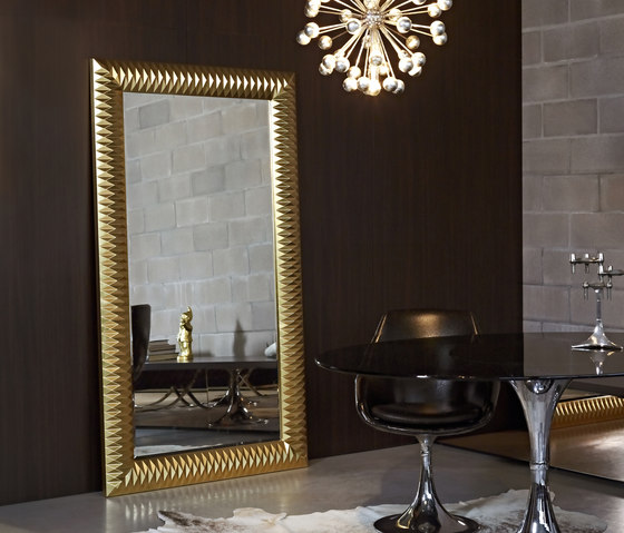 Nick gold by Deknudt Mirrors | Mirrors