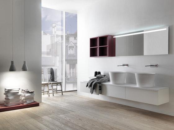 Via Veneto von Falper | Waschtischunterschränke