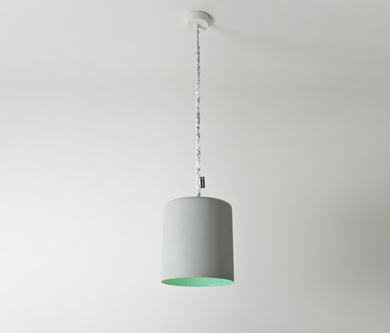 Bin cemento turquoise by IN-ES.ARTDESIGN | General lighting