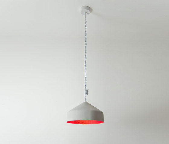 Cyrcus cemento rouge de IN-ES.ARTDESIGN | Suspensions
