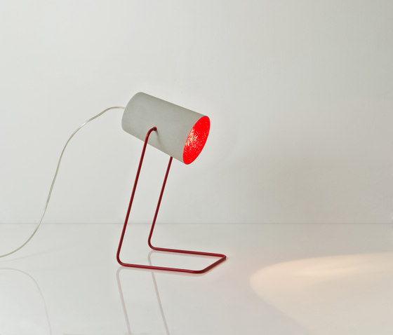 Paint T cemento red by IN-ES.ARTDESIGN | General lighting