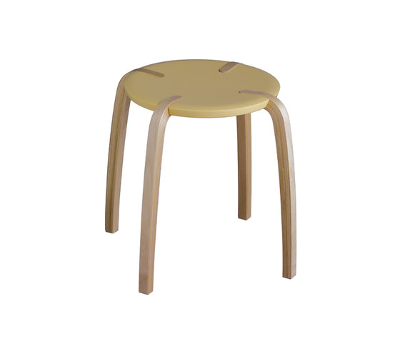 Discus stool by Plycollection | Multipurpose stools