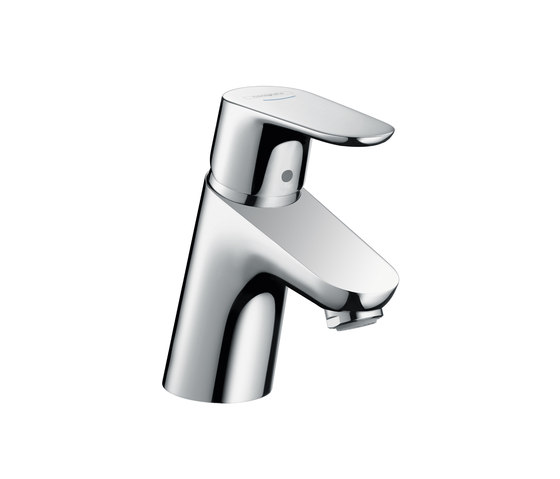 hansgrohe Focus Pillar tap 70 without waste set by Hansgrohe | Wash basin taps