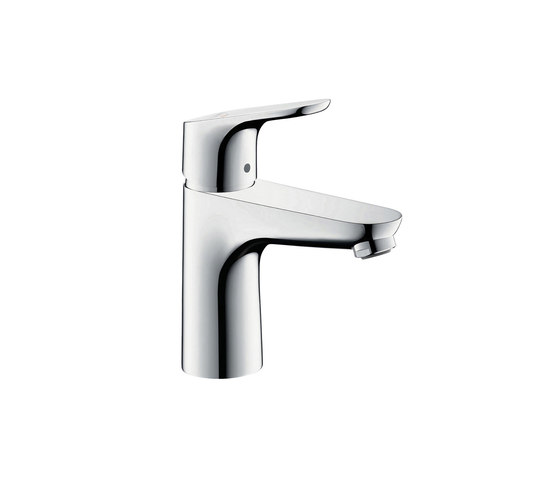 hansgrohe Focus Single lever basin mixer 100 CoolStart with pop-up waste set by Hansgrohe | Wash basin taps