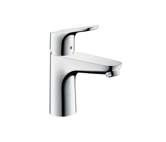 hansgrohe Focus Single lever basin mixer 100 without waste set by Hansgrohe | Wash basin taps