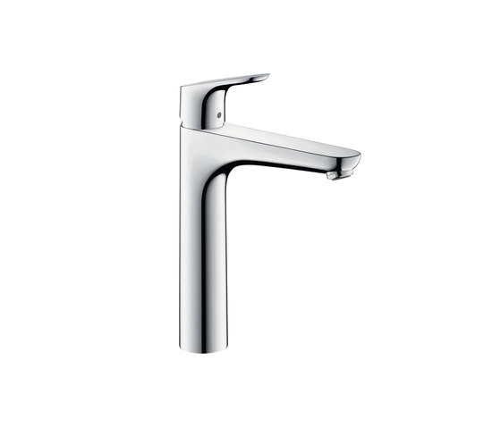 hansgrohe Focus Single lever basin mixer 190 with pop-up waste set by Hansgrohe | Wash basin taps