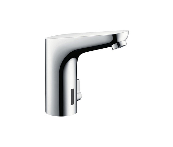 hansgrohe Focus Electronic basin mixer with temperature control with 230 V mains connection by Hansgrohe | Wash basin taps