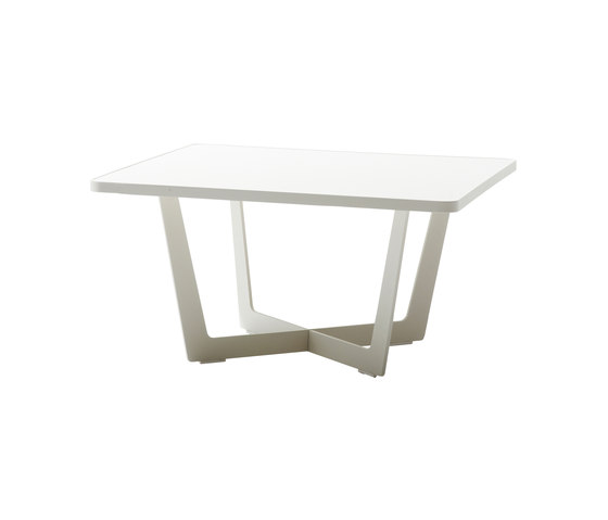 Time Out coffee table small di Cane-line | Tavoli bassi da giardino