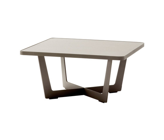 Time Out coffee table large de Cane-line | Tables basses de jardin