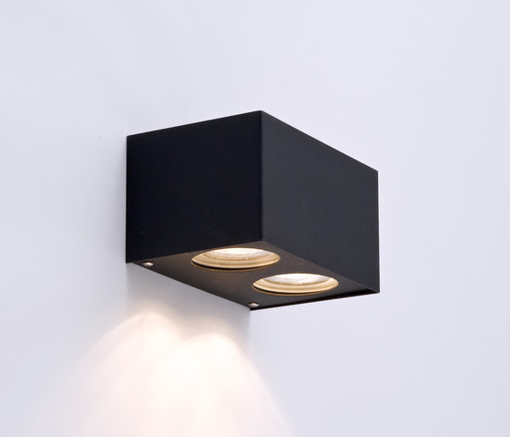 Tube carré duo black by Wever & Ducré | General lighting