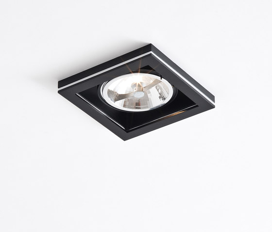 Cocoz square QR111 black di Wever & Ducré | Illuminazione generale