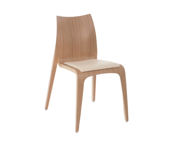 Flow chair von Plycollection | Besucherstühle