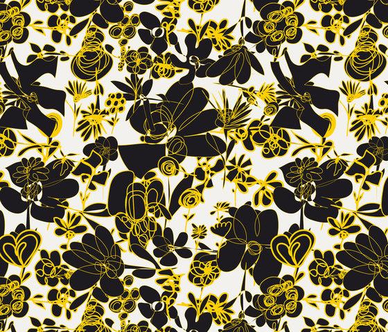 Blümchen I Wiese by Sabine Röhse | Bespoke fabrics