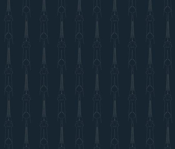 Architektur I Streifen   col1 by Sabine Röhse   Bespoke fabrics