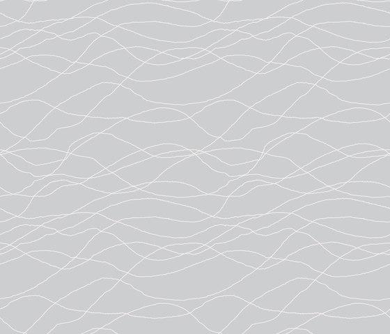 Linien I Wellen by Sabine Röhse   Bespoke fabrics
