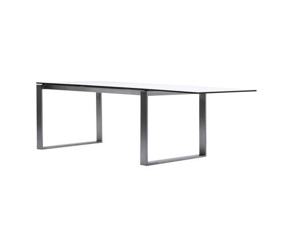 Edge Table de Cane-line | Mesas de comedor de jardín