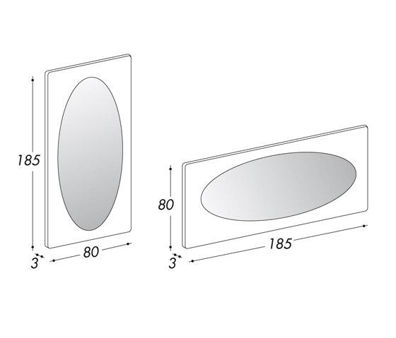 Specchiera Mirror by Bolzan Letti | Mirrors
