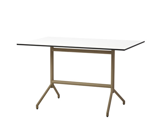 Avenue dining table by Cane-line | Cafeteria tables