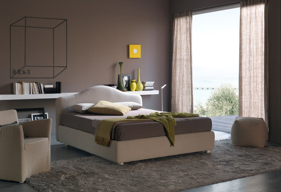 Vanity by Bolzan Letti | Double beds