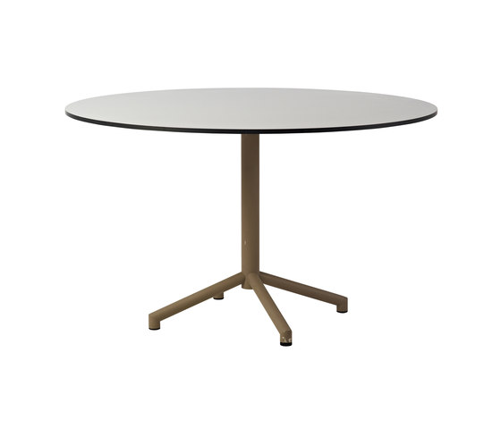 Avenue dining table di Cane-line | Tavoli caffetteria