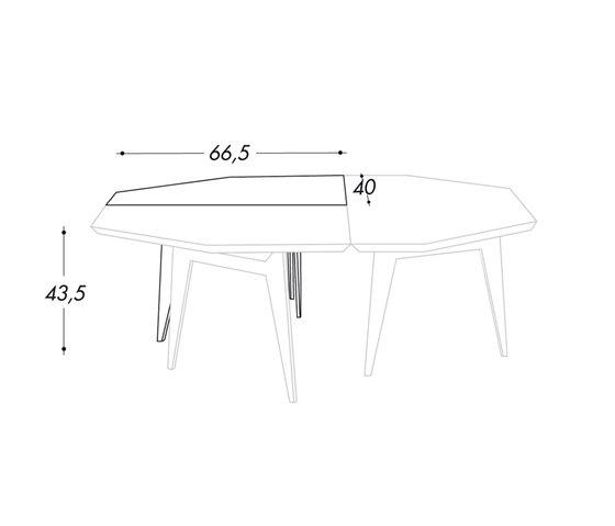 Teorema by Bolzan Letti | Side tables