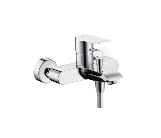 hansgrohe metris single lever bath mixer for exposed. Black Bedroom Furniture Sets. Home Design Ideas