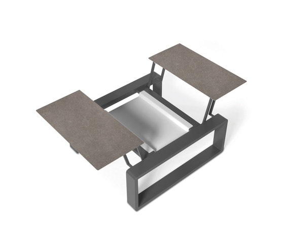 Kama Duo Modular Table XS de EGO Paris | Tables basses de jardin