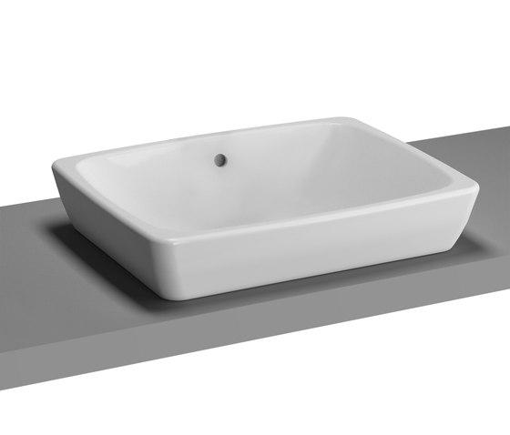 Metropole Counter washbasin di VitrA Bad | Lavabi / Lavandini