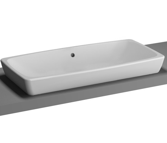 Metropole Counter washbasin by VitrA Bad | Wash basins