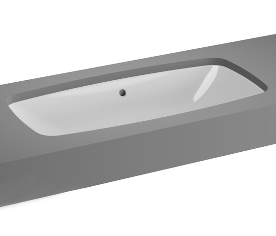Metropole Undercounter basin by VitrA Bad | Wash basins