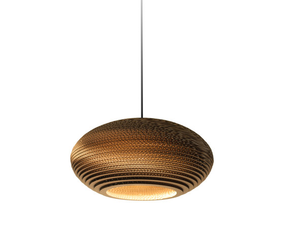 Disc16 Natural Pendant by Graypants | Suspended lights