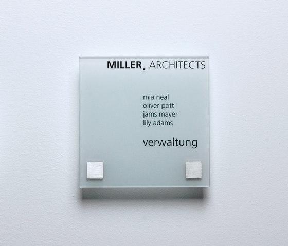 Square 16 x 16 by keilbach | Room signs