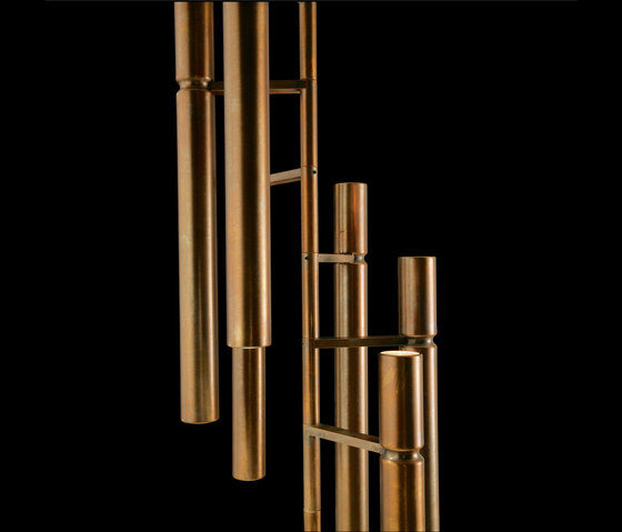 Tubular Light by HENGE | Suspended lights
