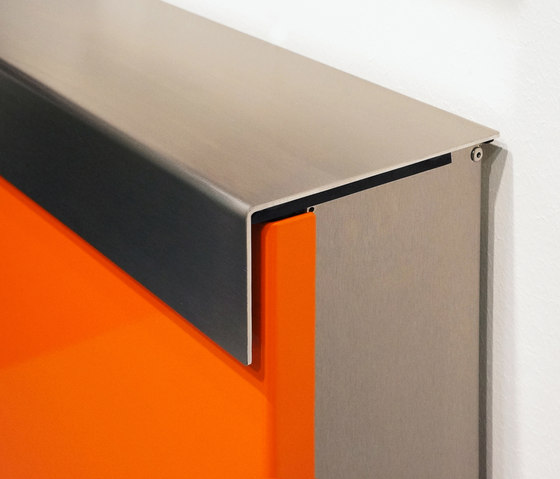 Glasnost-Color-Metal Mailbox by keilbach | Mailboxes