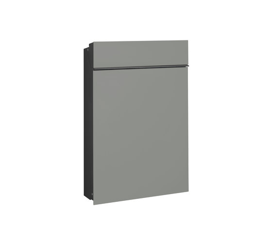 Flat letterbox | steel by Serafini | Mailboxes
