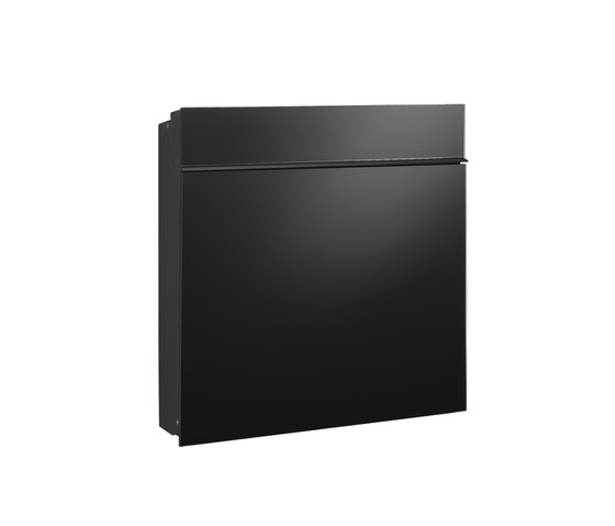 Flat Wide letterbox | glass by Serafini | Mailboxes