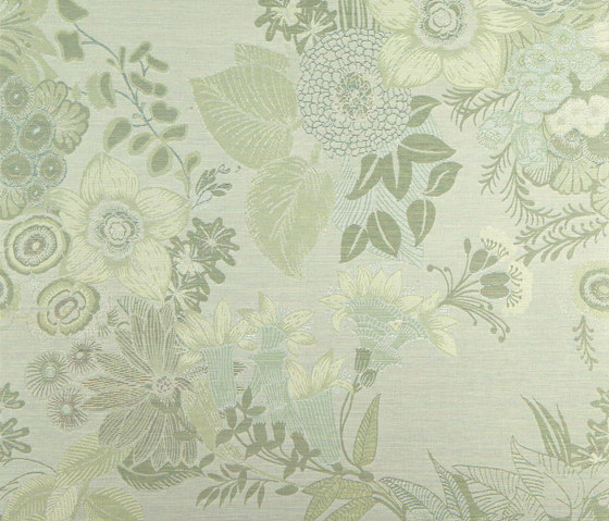 Botanic  113016 Botanic Lime by ASANDERUS | Wall coverings / wallpapers