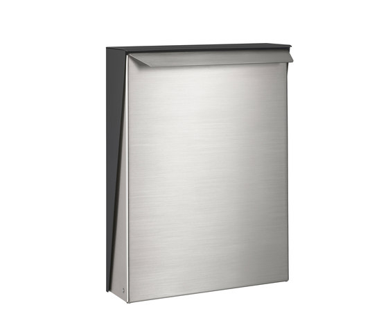 S-box letterbox | stainless steel di Serafini | Bucalettere