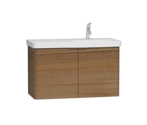 Nest Waschtisch-Unterschrank asymmetrisch von VitrA Bad | Waschtischunterschränke